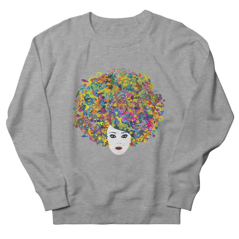 Great Hair Day Men's French Terry Sweatshirt by ferg's Artist Shop