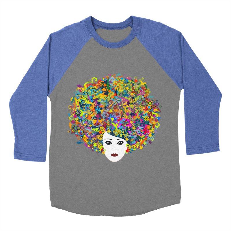 Great Hair Day Women's Baseball Triblend T-Shirt by ferg's Artist Shop