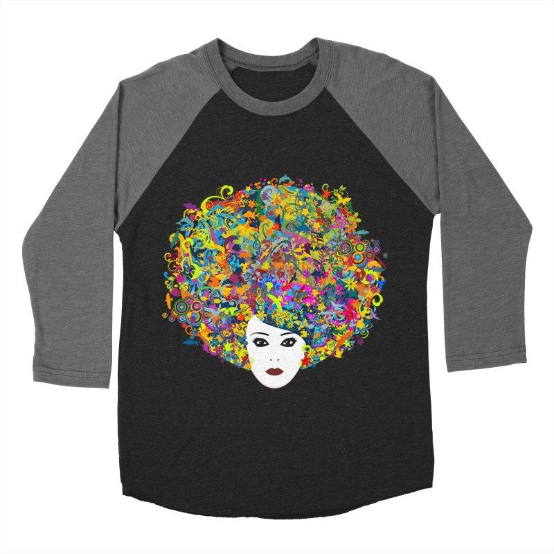 Great Hair Day Women's Baseball Triblend Longsleeve T-Shirt by ferg's Artist Shop