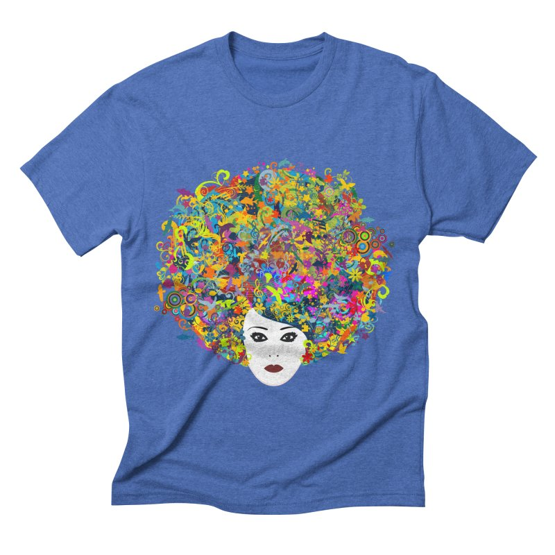 Great Hair Day Men's Triblend T-shirt by ferg's Artist Shop