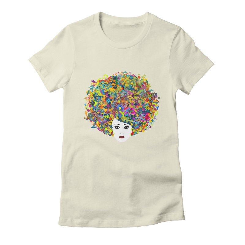 Great Hair Day Women's T-Shirt by ferg's Artist Shop