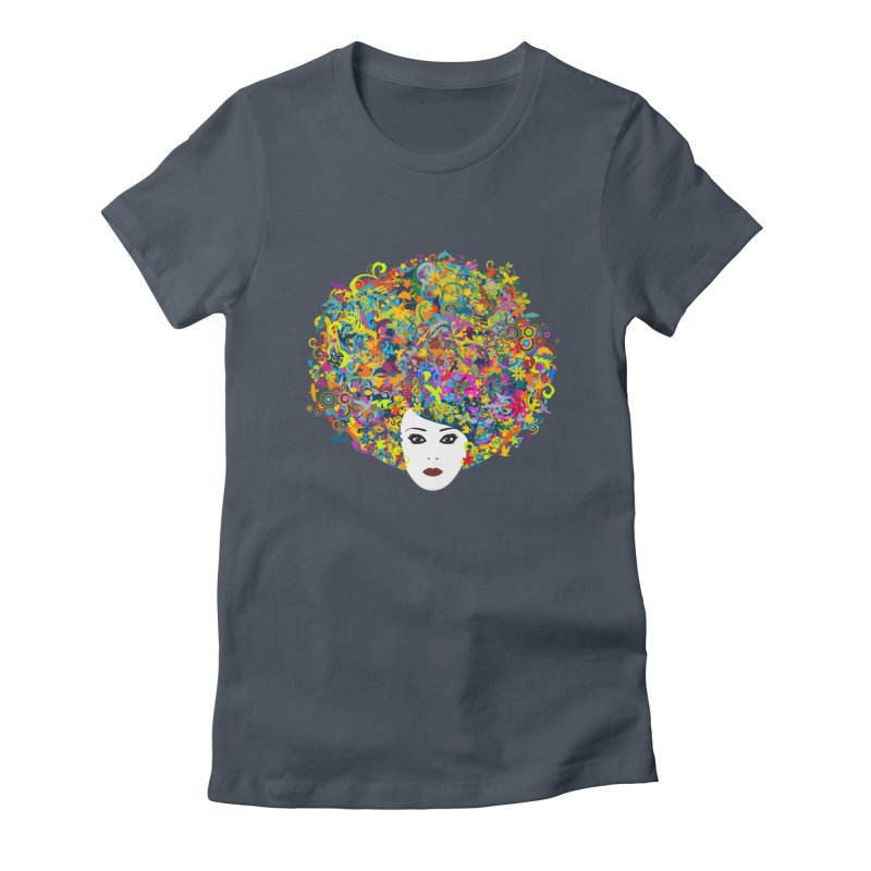 Great Hair Day Women's T-Shirt by ferg's Artist Shop