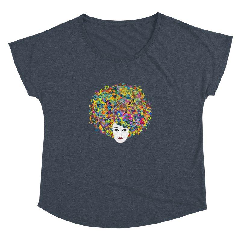 Great Hair Day Women's Dolman Scoop Neck by ferg's Artist Shop