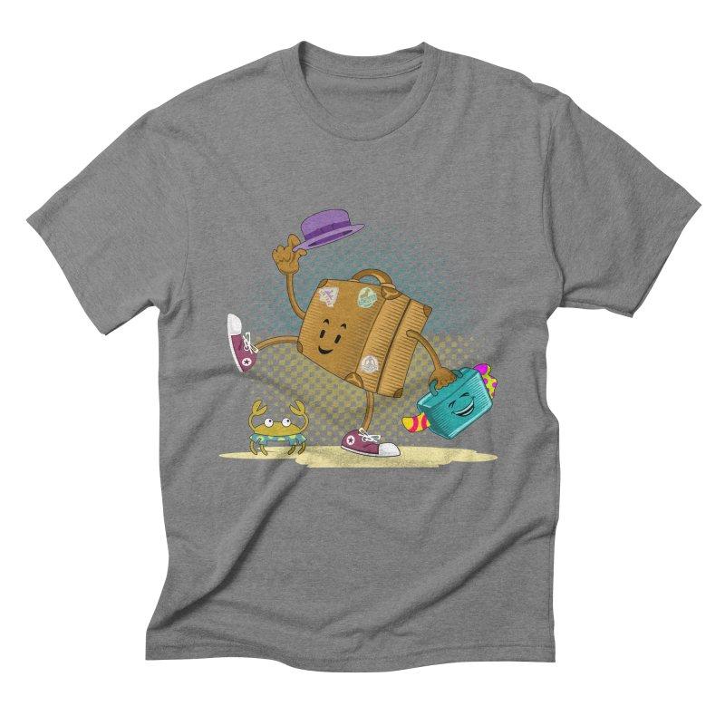 Holidays Men's Triblend T-shirt by ferg's Artist Shop