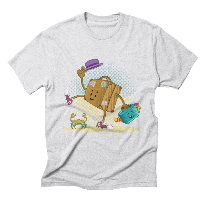 Holidays Men's Triblend T-Shirt by ferg's Artist Shop
