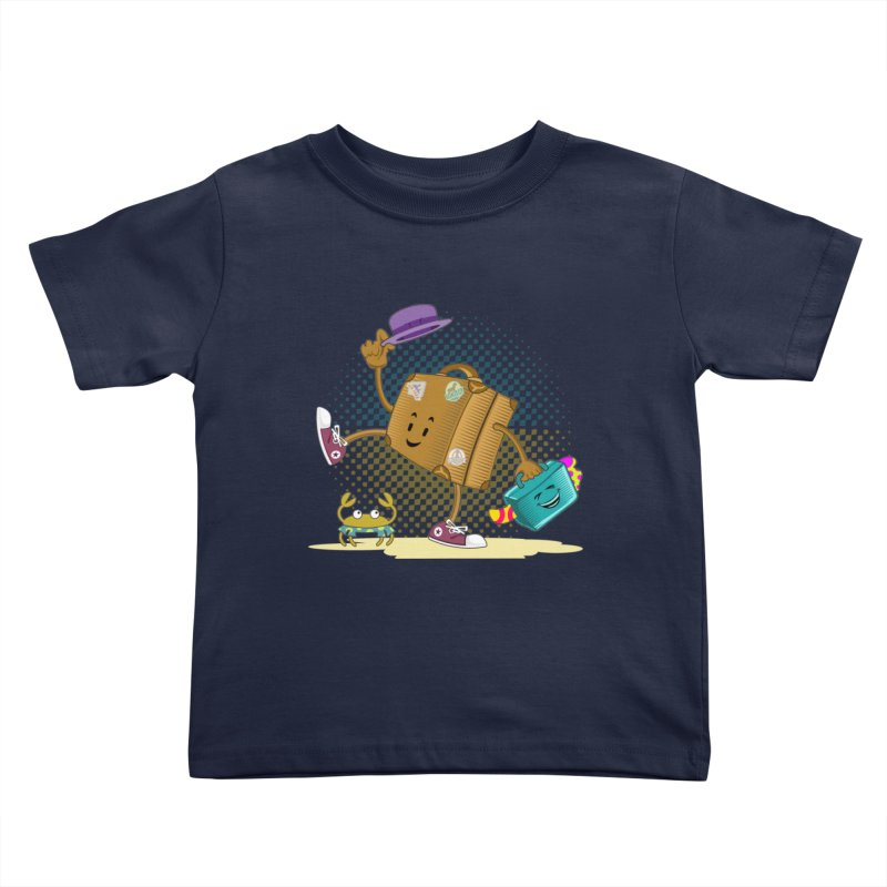 Holidays Kids Toddler T-Shirt by ferg's Artist Shop
