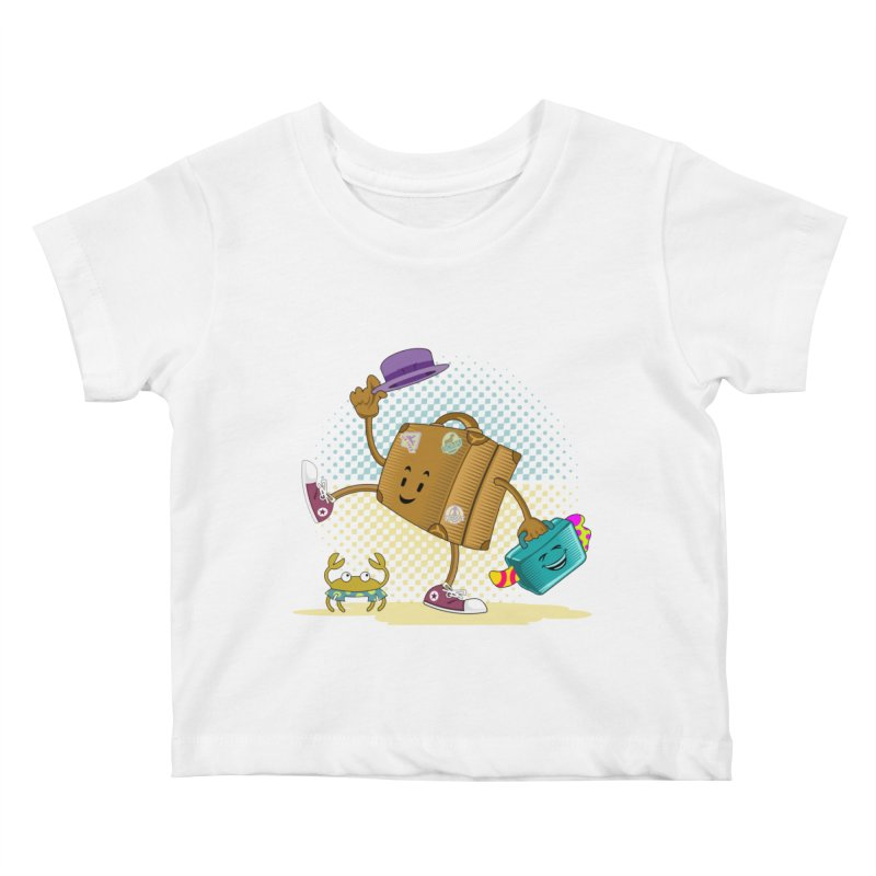 Holidays Kids Baby T-Shirt by ferg's Artist Shop