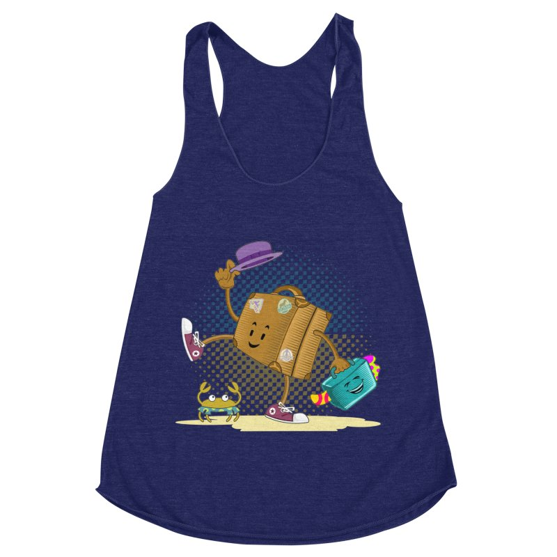 Holidays Women's Racerback Triblend Tank by ferg's Artist Shop