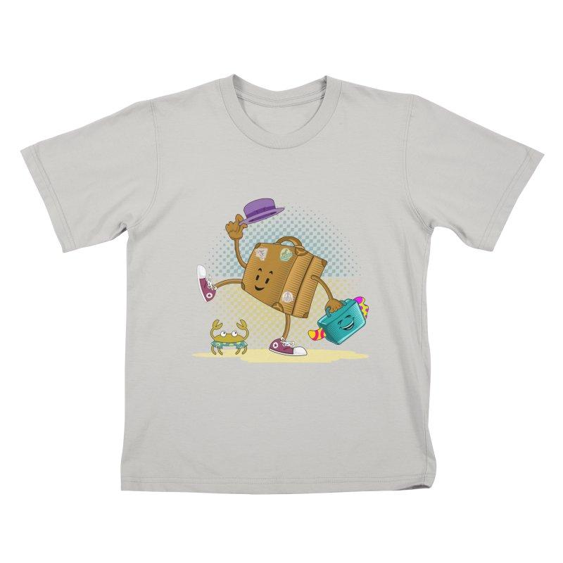 Holidays Kids T-shirt by ferg's Artist Shop
