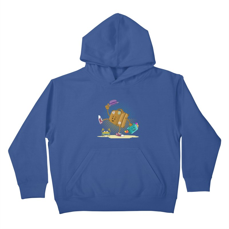 Holidays Kids Pullover Hoody by ferg's Artist Shop