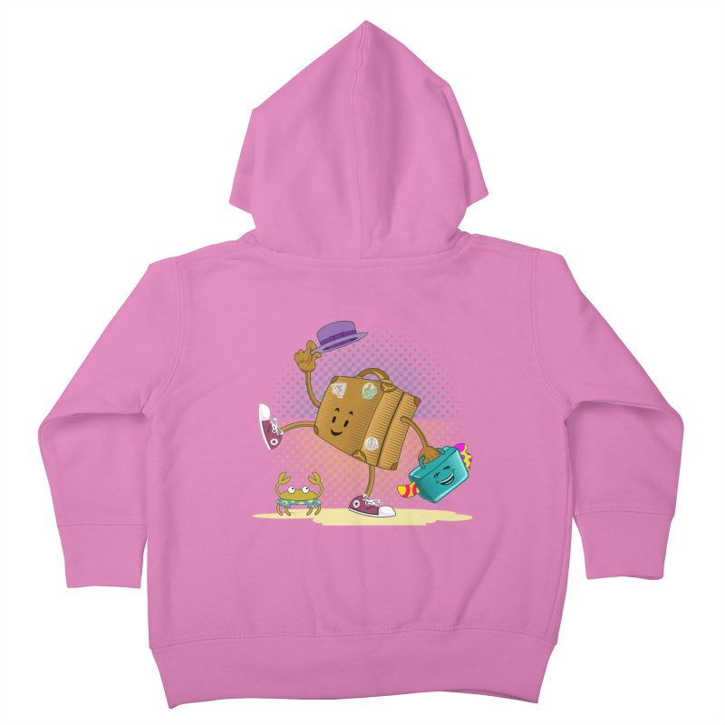 Holidays Kids Toddler Zip-Up Hoody by ferg's Artist Shop