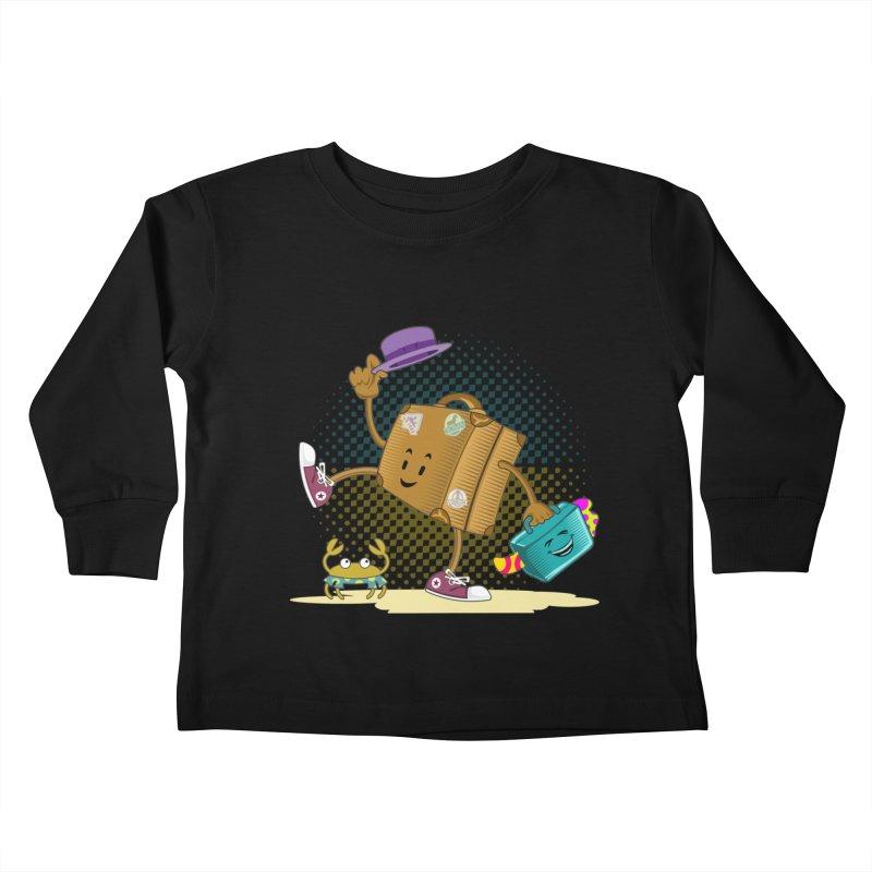 Holidays Kids Toddler Longsleeve T-Shirt by ferg's Artist Shop