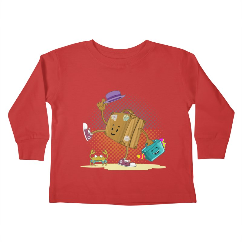 Holidays Kids Toddler Longsleeve T-Shirt by ferg's Artist Shop