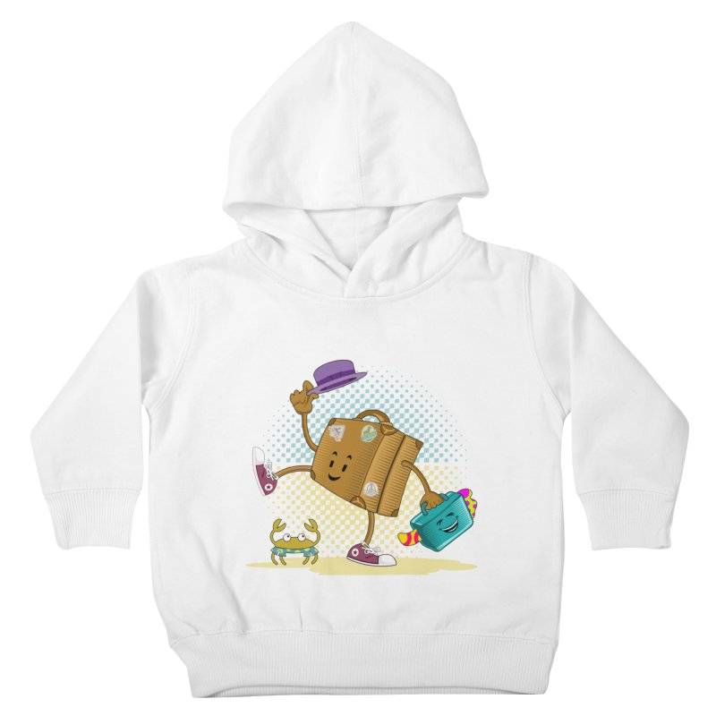 Holidays Kids Toddler Pullover Hoody by ferg's Artist Shop