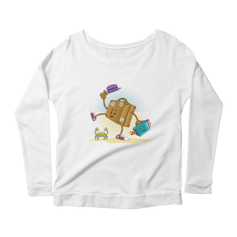 Holidays Women's Longsleeve Scoopneck  by ferg's Artist Shop