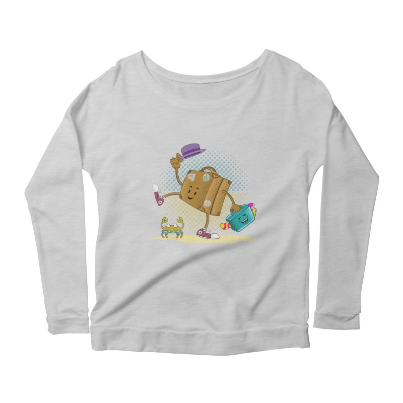 Holidays Women's Scoop Neck Longsleeve T-Shirt by ferg's Artist Shop