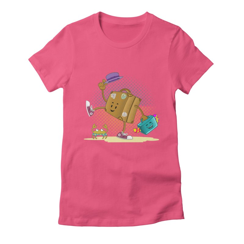 Holidays Women's Fitted T-Shirt by ferg's Artist Shop