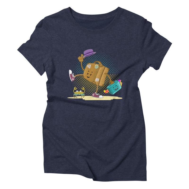 Holidays Women's Triblend T-Shirt by ferg's Artist Shop