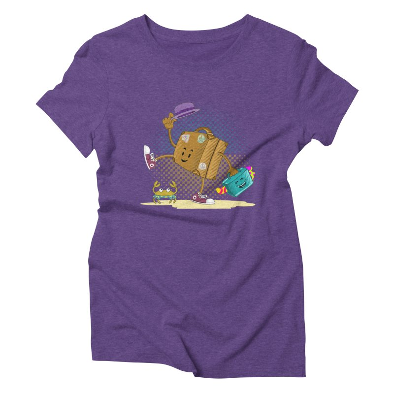 Holidays Women's Triblend T-Shirt by ferg's Artist Shop