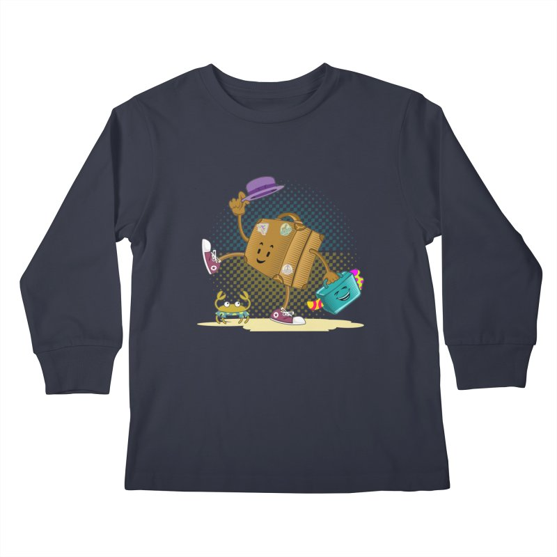 Holidays Kids Longsleeve T-Shirt by ferg's Artist Shop