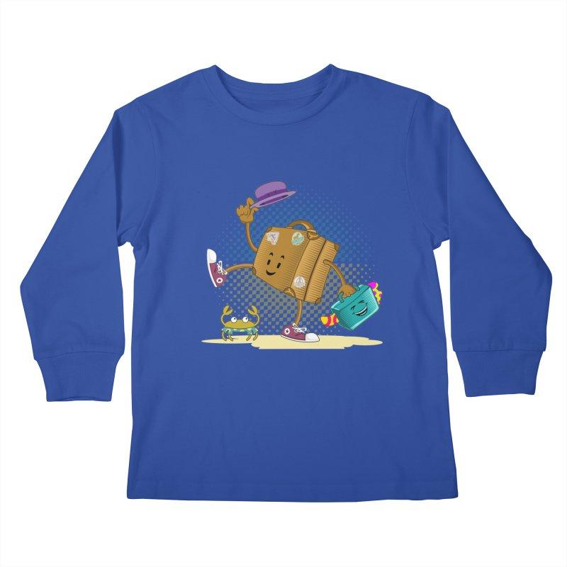 Holidays Kids Longsleeve T-Shirt by ferg's Artist Shop