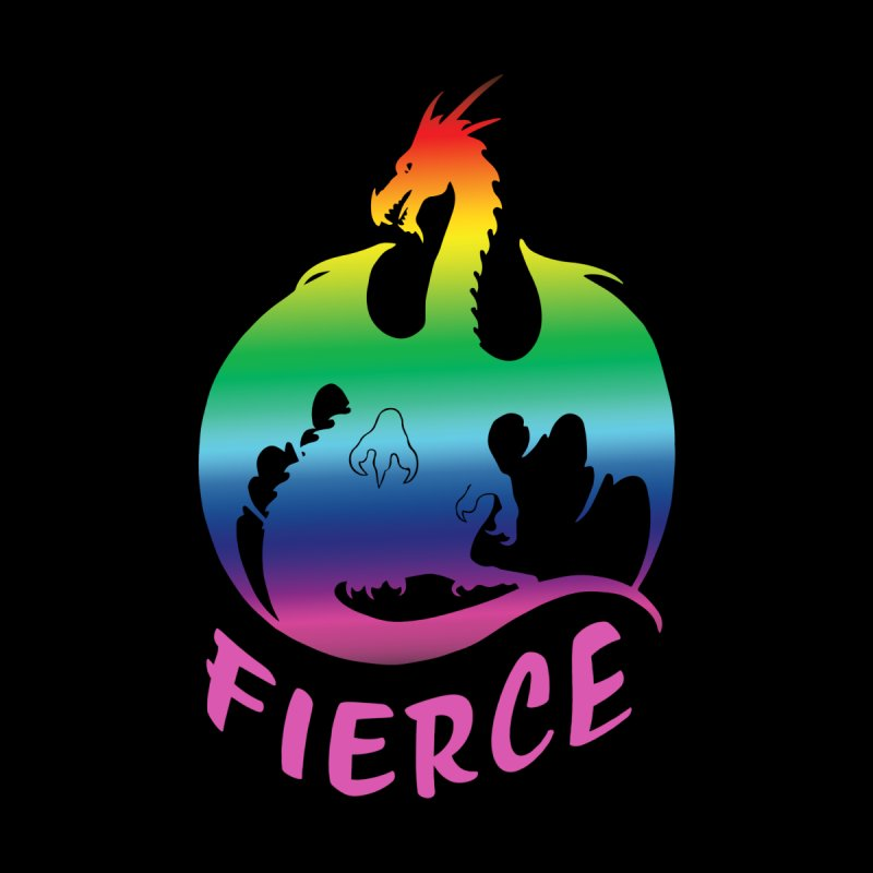 Fierce AF Men's T-Shirt by Ferine Fire