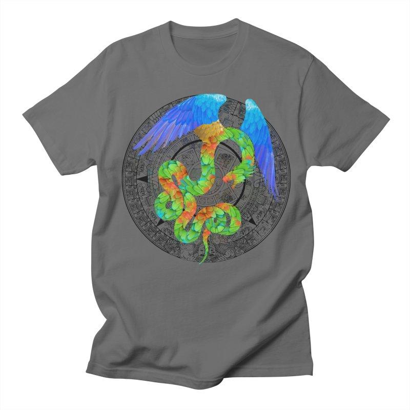 Aztec Angel Men's T-Shirt by Ferine Fire