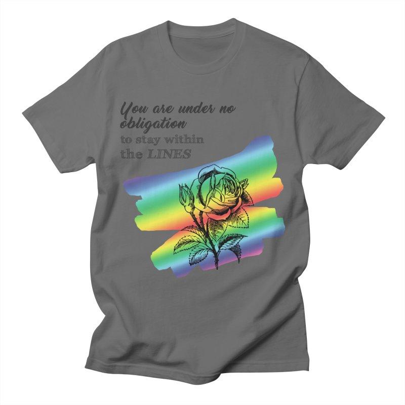 Nonconformity Men's T-Shirt by Ferine Fire