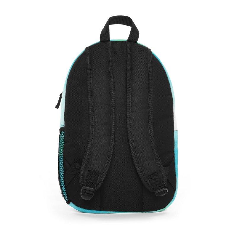 Aqua Sea Dolphins Accessories Bag by Ferine Fire