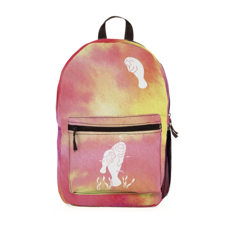 Peach River Manatees Accessories Bag by Ferine Fire