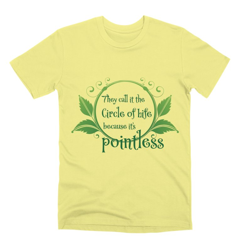 Pointless Men's Premium T-Shirt by Ferine Fire