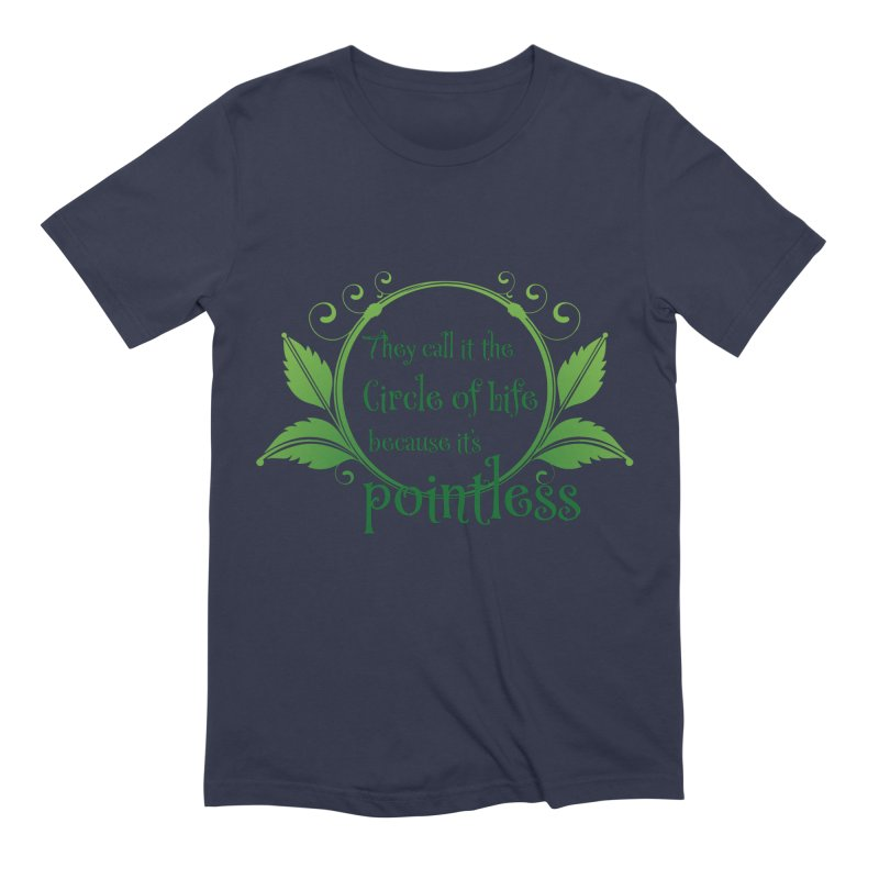 Pointless Men's Extra Soft T-Shirt by Ferine Fire