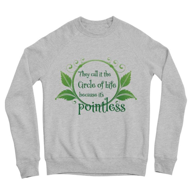 Pointless Men's Sponge Fleece Sweatshirt by Ferine Fire