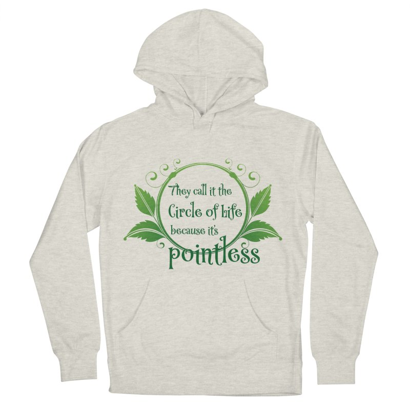 Pointless Women's French Terry Pullover Hoody by Ferine Fire