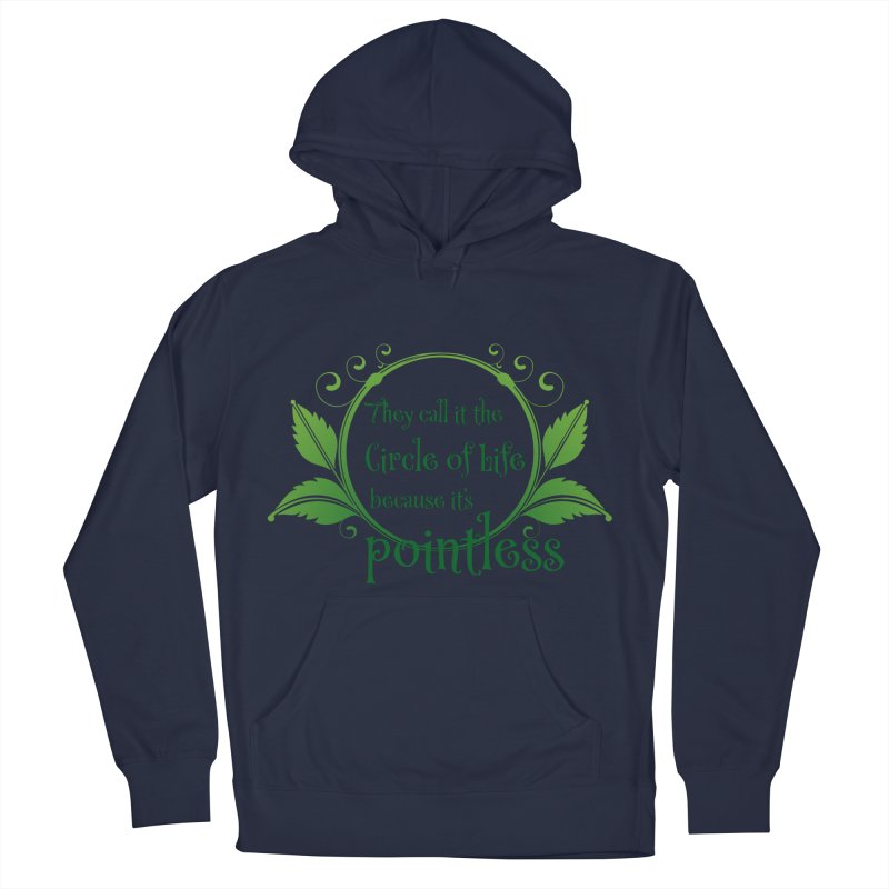 Pointless Men's French Terry Pullover Hoody by Ferine Fire