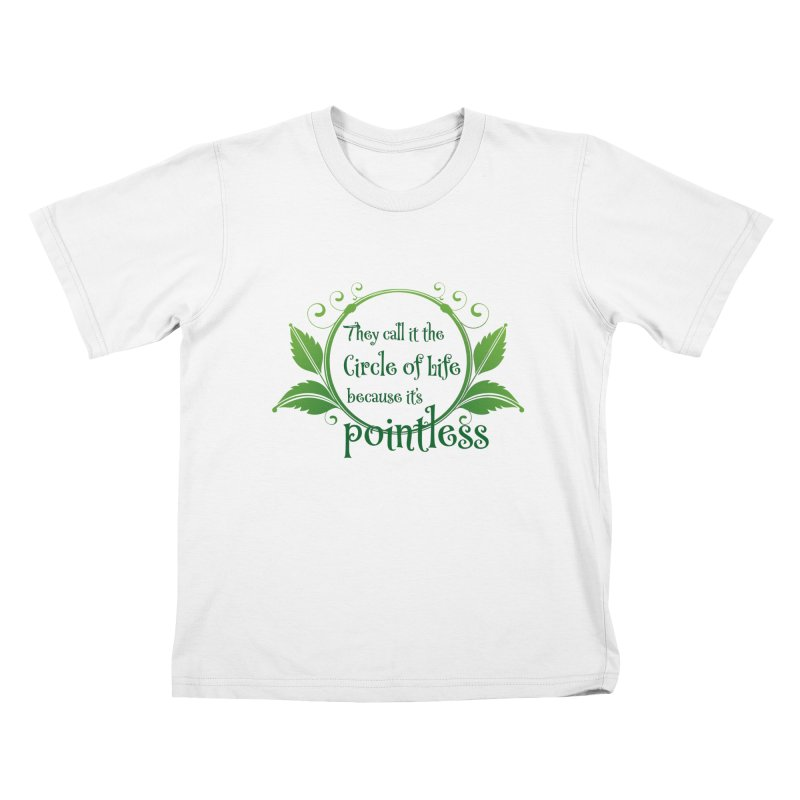 Pointless Kids T-Shirt by Ferine Fire