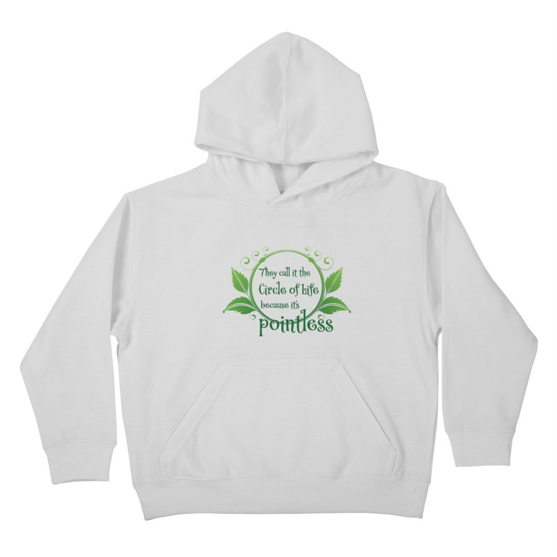 Pointless Kids Pullover Hoody by Ferine Fire