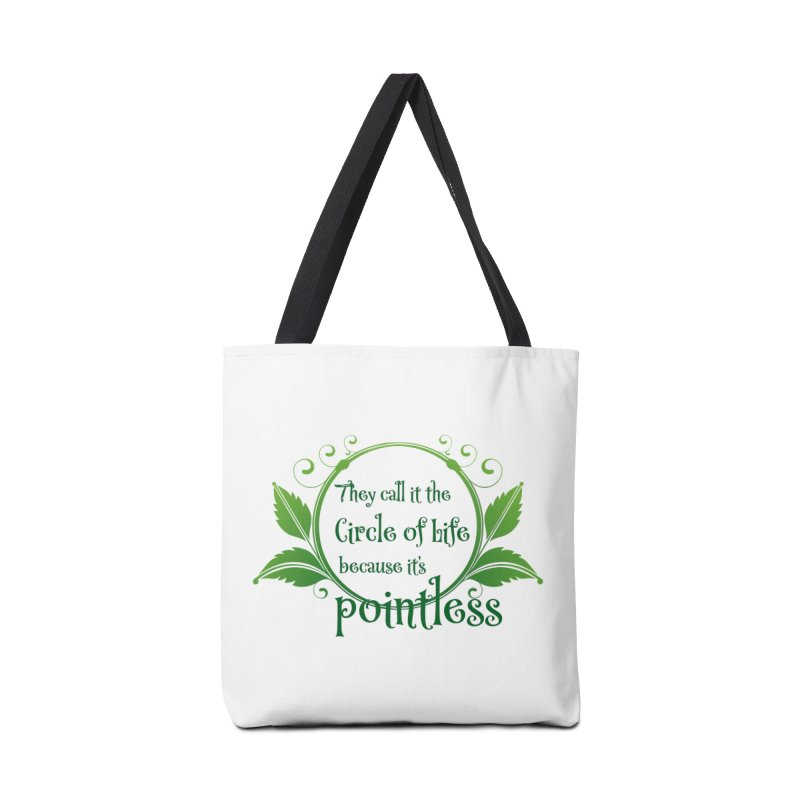 Pointless Accessories Tote Bag Bag by Ferine Fire