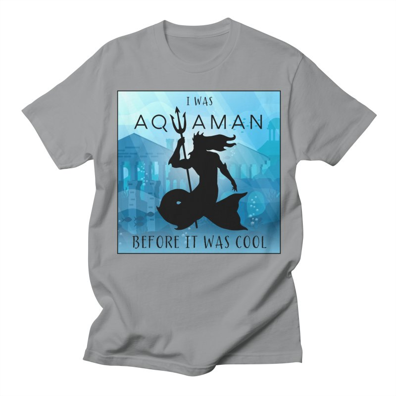 Triton's Lament Men's Regular T-Shirt by Ferine Fire