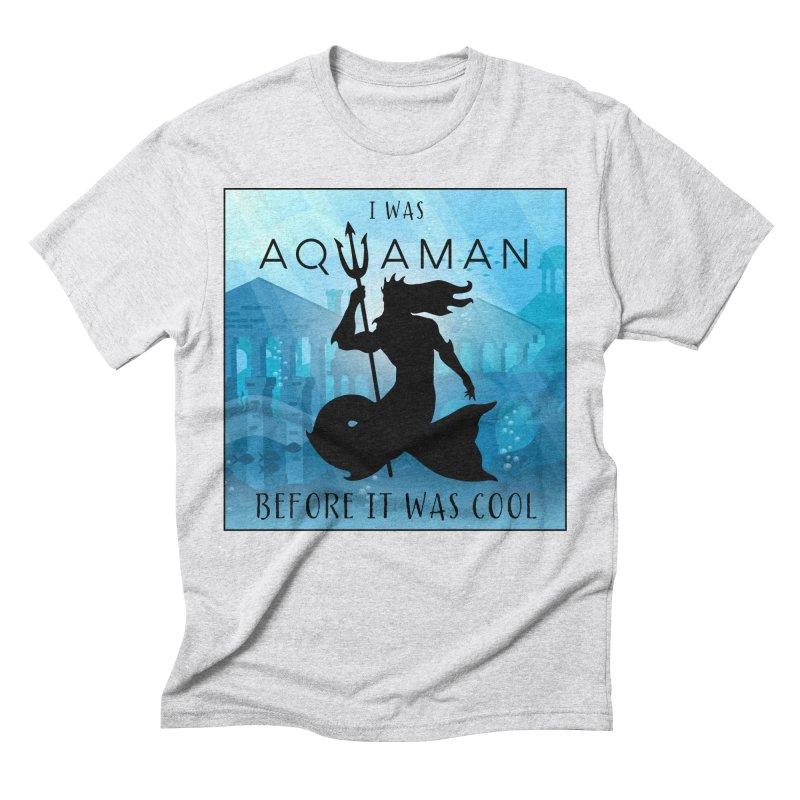 Triton's Lament Men's Triblend T-Shirt by Ferine Fire