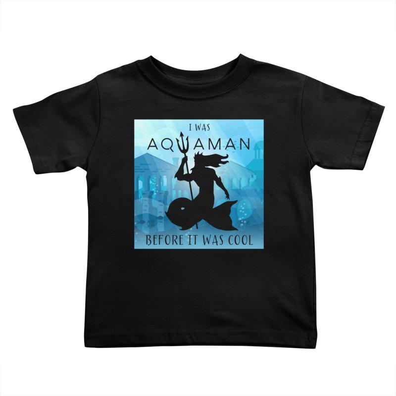Triton's Lament Kids Toddler T-Shirt by Ferine Fire