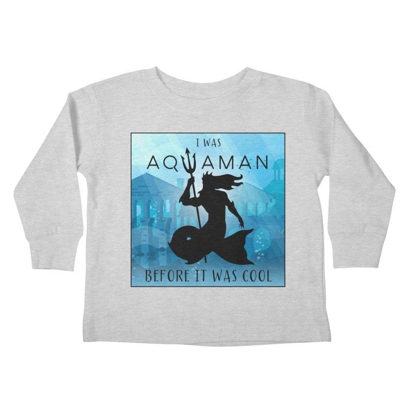 Triton's Lament Kids Toddler Longsleeve T-Shirt by Ferine Fire