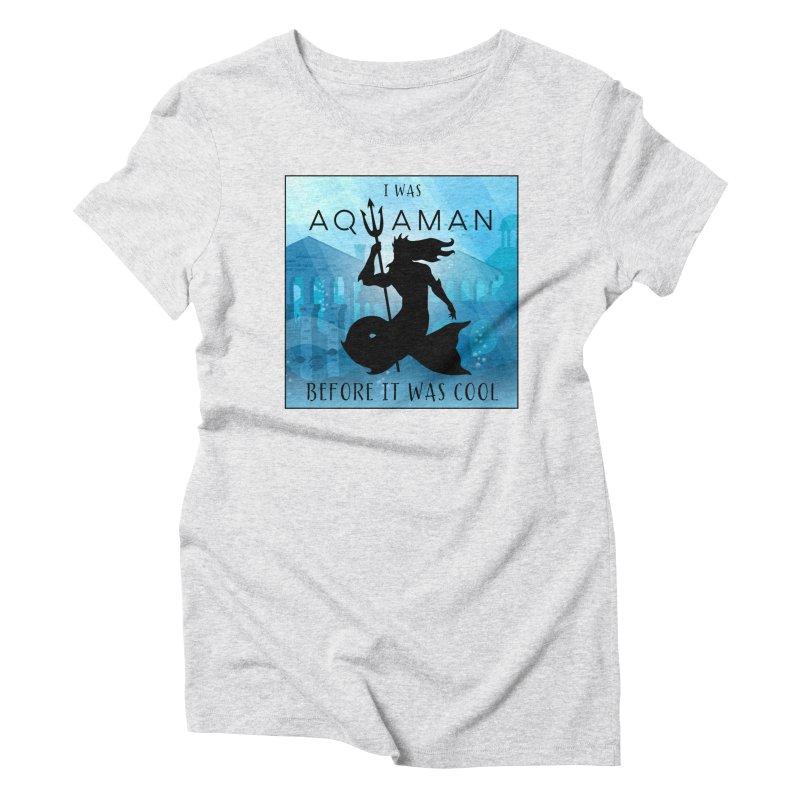 Triton's Lament Women's Triblend T-Shirt by Ferine Fire