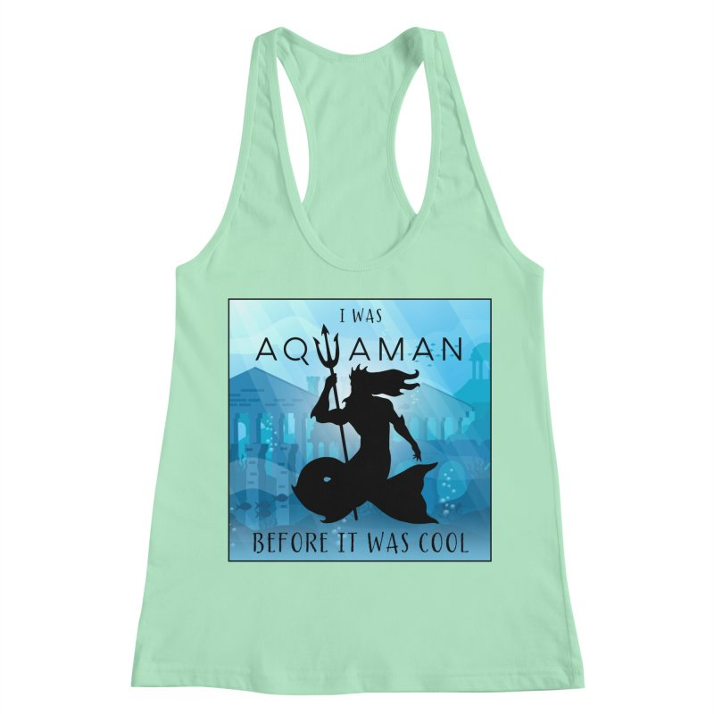Triton's Lament Women's Racerback Tank by Ferine Fire