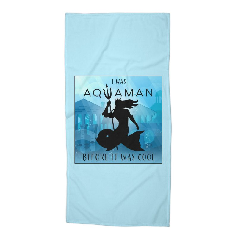 Triton's Lament Accessories Beach Towel by Ferine Fire