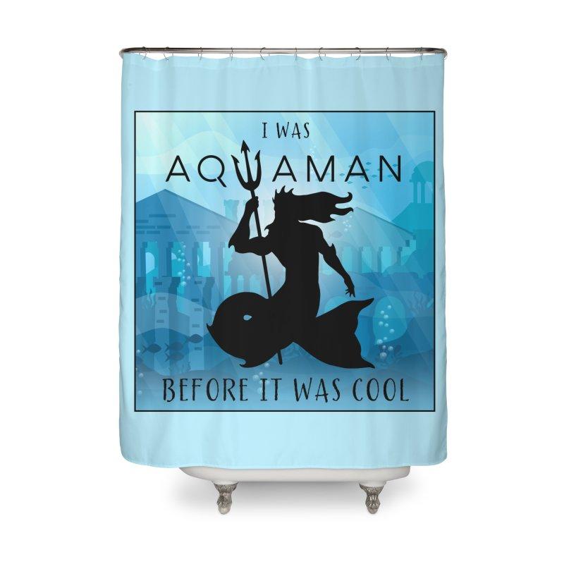 Triton's Lament Home Shower Curtain by Ferine Fire