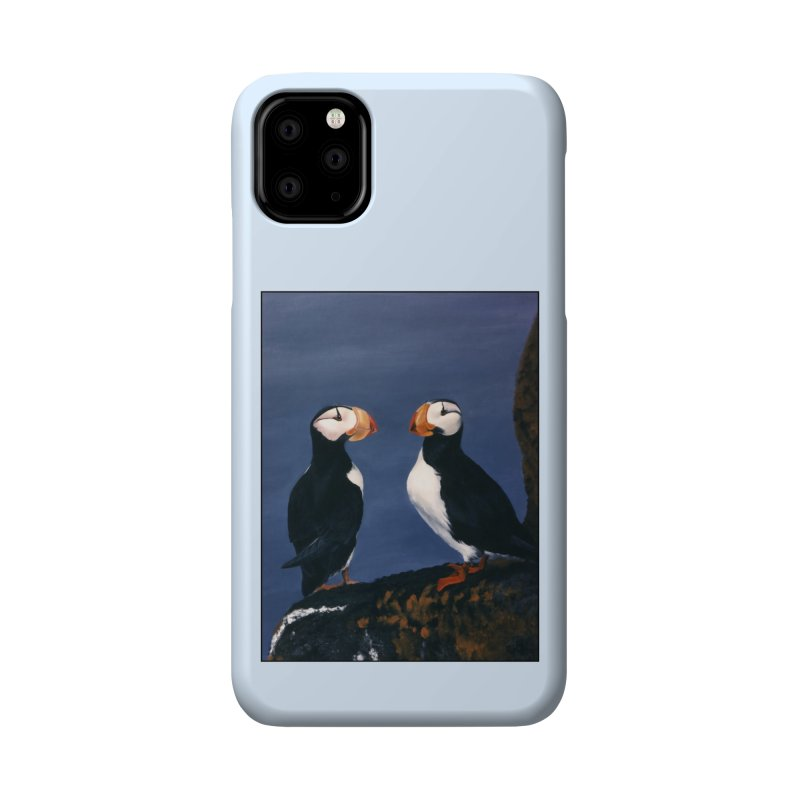 Two's Company Accessories Phone Case by Ferine Fire