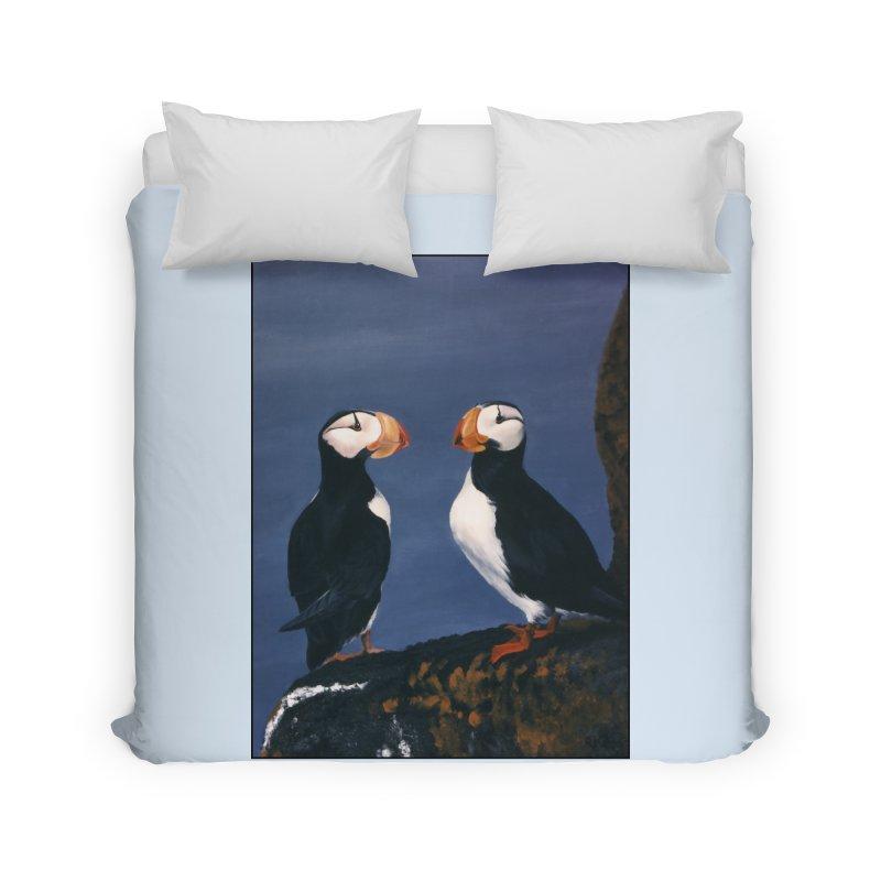 Two's Company Home Duvet by Ferine Fire