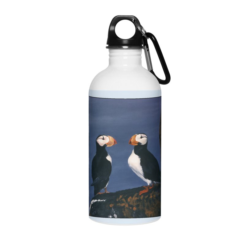 Two's Company Accessories Water Bottle by Ferine Fire