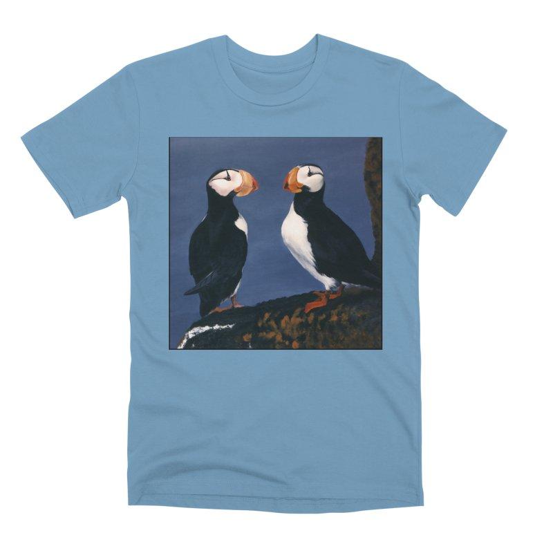 Two's Company Men's Premium T-Shirt by Ferine Fire
